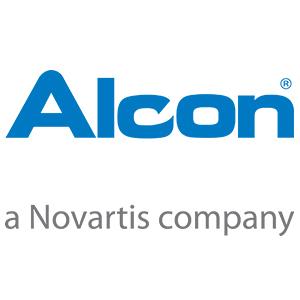 Proxima image; Alcon Novartis logo